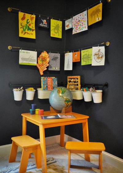 トラディショナル 子供部屋 by Katherine Sable Design