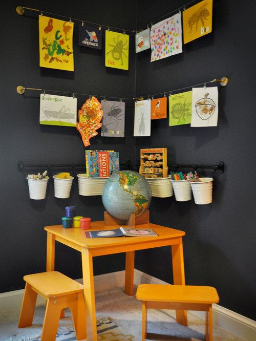 petite salle de jeux d 39 enfant photos et id es d co de salles de jeux d 39 enfant. Black Bedroom Furniture Sets. Home Design Ideas