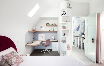 Room of the Week: An Attic Transformed into a Magical Kids' Suite