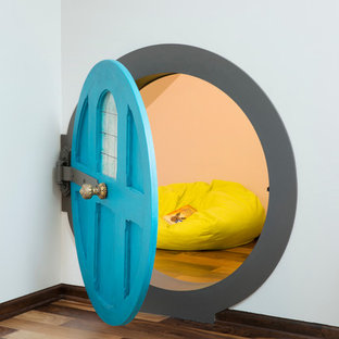 Attic master suite with a Hobbit Hole