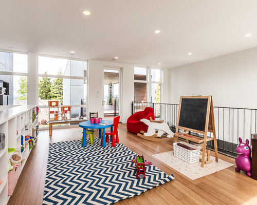 Inspiration For A Contemporary Kidsu0027 Room Remodel In Seattle