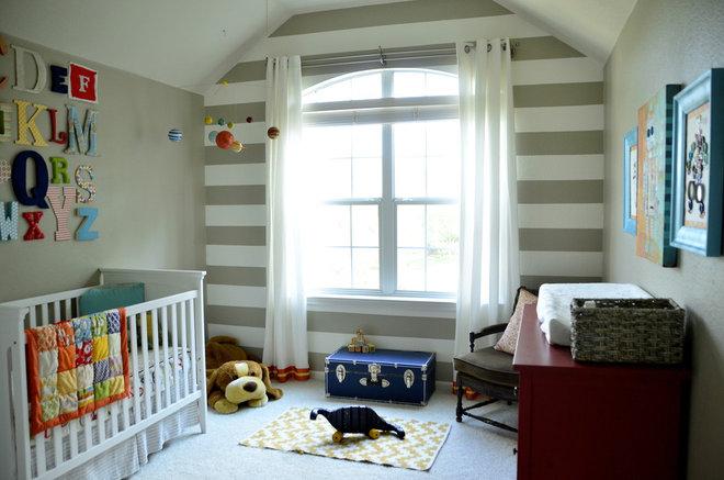 Eclectic Kids Baby Boy's Room