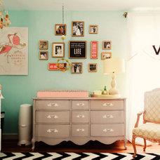 Contemporary Kids Baby Room