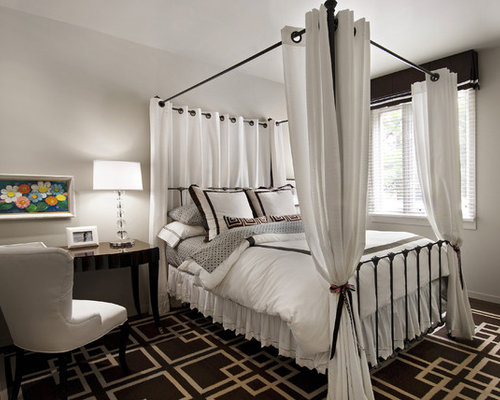 Canopy Bed Curtains Ideas, Pictures, Remodel and Decor