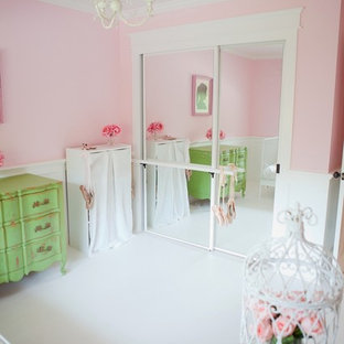 Example of a classic kids' room design in San Francisco
