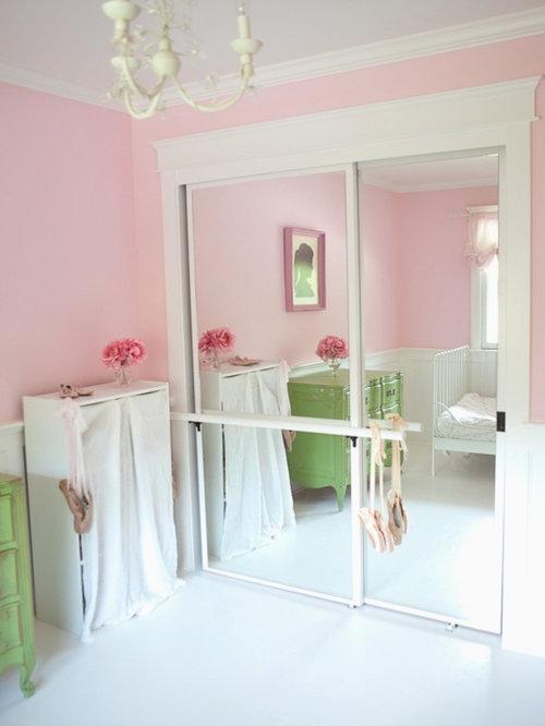 Ballerina Bedroom with Ballet Bar