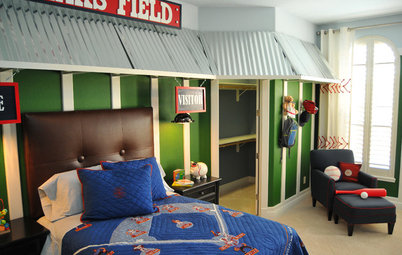 Swing for the Fences With Baseball Decor