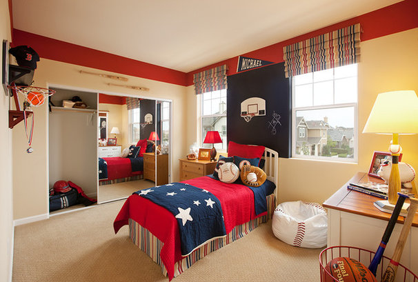 Contemporary Kids by Borden Interiors & Associates