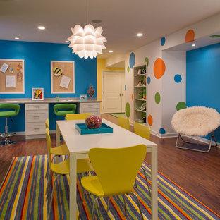Kids' room - contemporary kids' room idea in New York