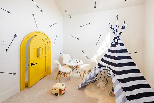 Skandinavisk Børneværelse by Brechbuhler Architects