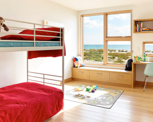 maritime rote kinderzimmer gestalten ideen design houzz. Black Bedroom Furniture Sets. Home Design Ideas