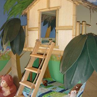 Foto di una cameretta per bambini tropicale
