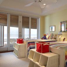 Beach Style Kids by Diane Burgoyne Interiors