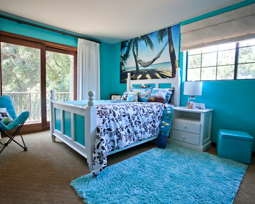 Beach theme teen bedroom ideas pictures remodel and decor - Teen beach bedroom ideas ...