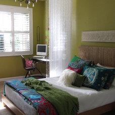 Eclectic Kids Bedroom-Office