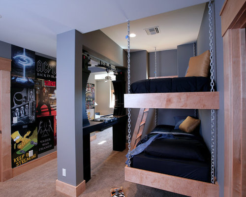 SaveEmail. Houzz   Teen Twin Boy Design is important   Remodel Pictures