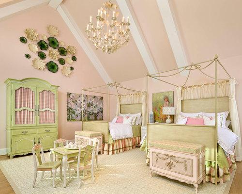 princess bedroom sets. Traditional girl kids  room idea in Dallas Disney Princess Bedroom Set Houzz