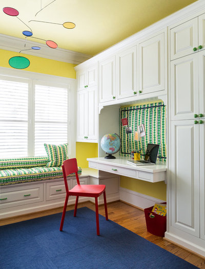 Transitional Kids by Christine Huvé Interior Design