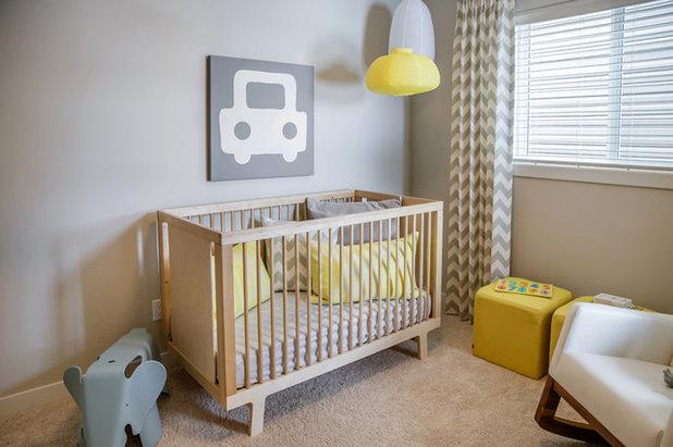 Scandinave Chambre d'Enfant by Natalie Fuglestveit Interior Design