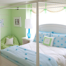 Modern Kids Blue & Green Girl's Room