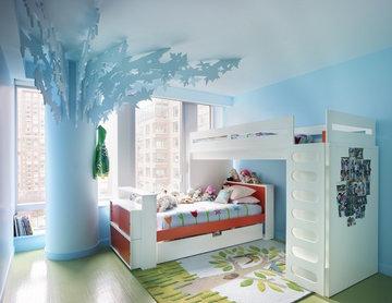 Bohemian Apartment Girl's Bedroom