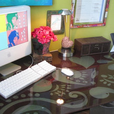 Eclectic Kids BoHo Bedroom Office