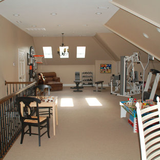 Example of a classic kids' room design in Raleigh