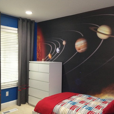 Solar System Bedroom : Boy Bedroom Design - Solar System