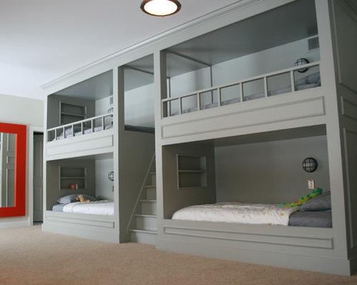 Side by side bunk