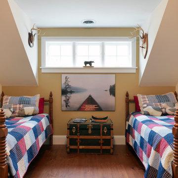 Boy's Bedroom with dormer window