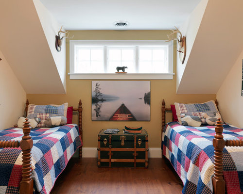 Bedroom With Dormer Windows Houzz