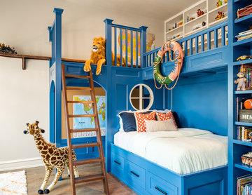 Boy's bunk bed