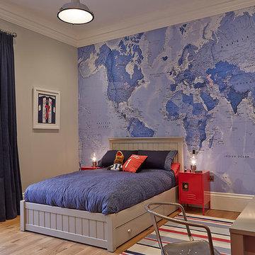 Boy's Educational Bedroom