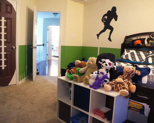 Boys Football Bedrooms Houzz - Kids football room