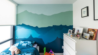Boy's Room Feature Wall - Pacific North West