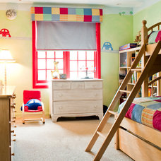 Eclectic Kids Boys room