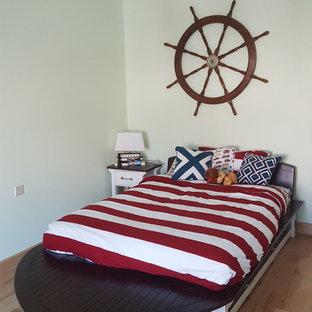 Boys rooms: Space/planet room and marine team