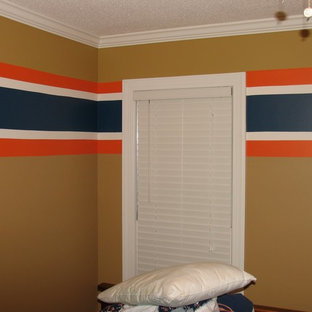 Example of a trendy kids' room design in Ottawa
