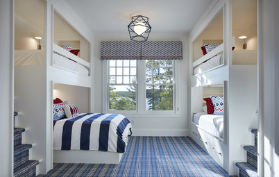 15 Clever and Cool Bunkrooms