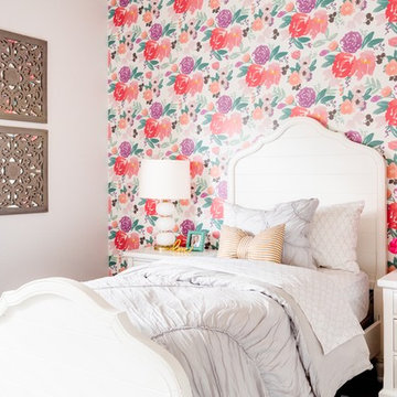 Bright and Cheerful Girls Room