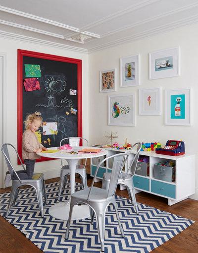 トランジショナル 子供部屋 by Nicole Gibbons Studio LLC