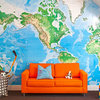 Expand Your Horizons With Map Wallpaper and Decals