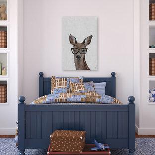"""Brown Hippie Deer III"" Painting Print on Wrapped Canvas"