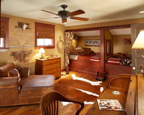 Western theme bedroom ideas pictures remodel and decor for Cowboy themed bedroom ideas