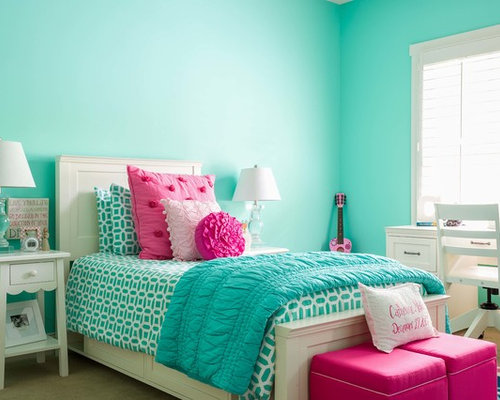 Teal pillows kids room and nursery design ideas