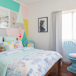 This is an example of a scandinavian teen room for girls in Sunshine Coast.