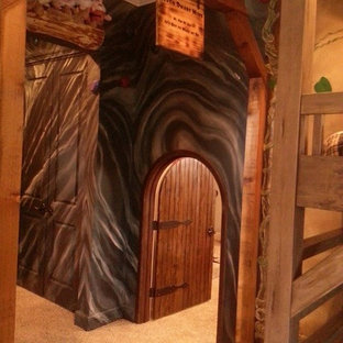Idee per una piccola cameretta per bambini da 4 a 10 anni classica