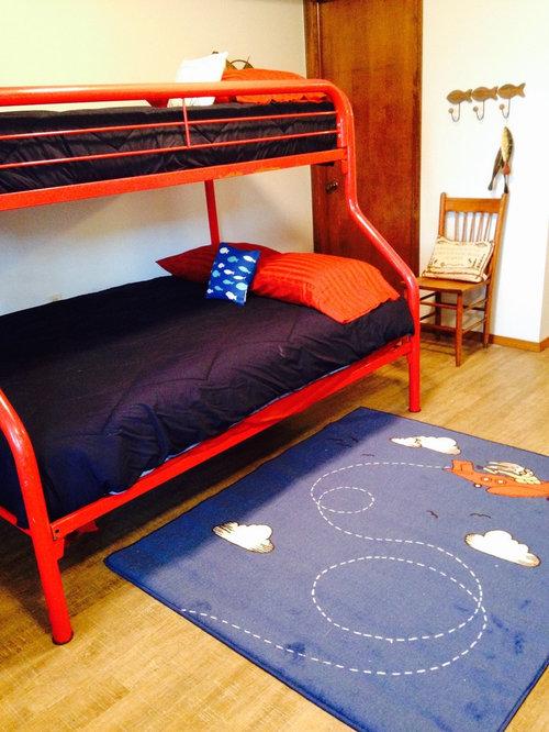 Mezzanine bedroom design ideas renovations photos with for Mezzanine floor bedroom design