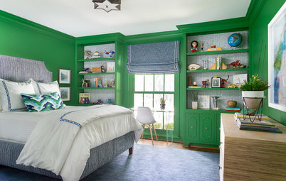 Dallas Boy's Bedroom Infused With Vibrant Color