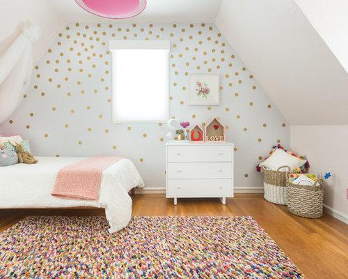 Scandinavian kids 39 room design ideas remodels photos for Scandinavian childrens bedroom